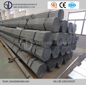 BS 1387 Pre Galvanized Round Steel Pipe