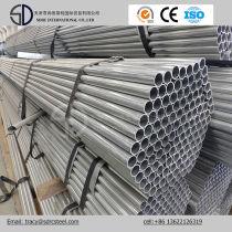 Q235 Q345 Pre Galvanized Round Steel Pipe