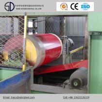 Dx53D Material Wood Pattern Prepainted Steel Coil Grain PPGI Coil