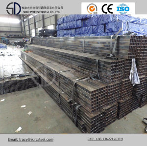 Black Annealed Square Steel Pipe for Furniture Using