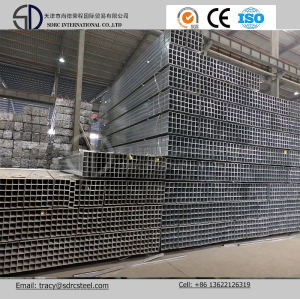 Q345D Hot Dipped Galvanized Square Steel Pipe