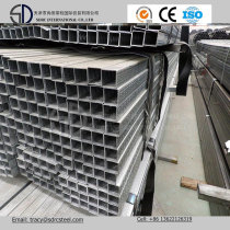 Pre-Galvanized Steel Pipe for Decoration or Steel Furniture Q195 Q235 Q345