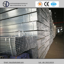 Hot-DIP Galvanized Square Steel Pipe for Shelves