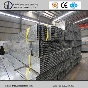 ERW Q235B Pre-Galvanized Square Steel Pipe
