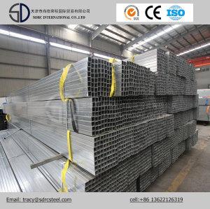 ERW ASTM A53 Grade a Pre-Galvanized Square Steel Pipe