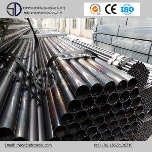 Q345b Round Pre-Galvanized Steel Pipe
