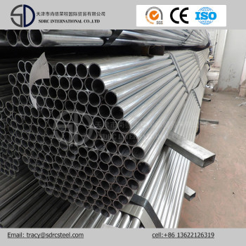 ASTM A106 Grade B Round Pre-Galvanized Steel Pipe