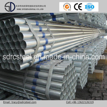 S235jo S235jr Pre-Galvanized Carbon Steel Pipe for Building Material
