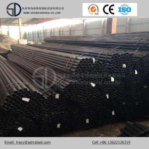 Q345c Carbon Round Black Annealed Steel Pipe