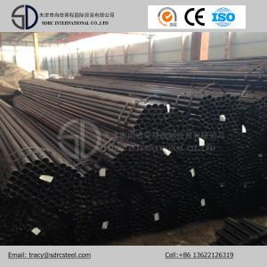 Tuyau d'acier recuit noir rond de carbone de Q345c