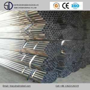 S235jr Carbon Round Black Annealed Steel Pipe