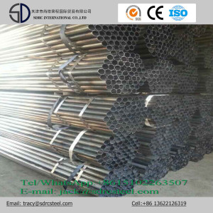 Carbon Round Black Annealed Steel Pipe