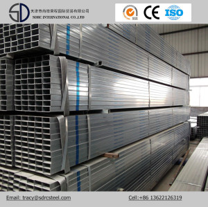 Hot DIP, Galvanized Square/Rectangular Steel Pipe