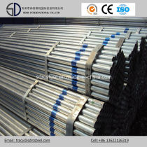 Greenhouse Frame Ms Gi Galvanized Steel Pipe/Round Steel Pipe