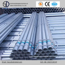Galvanized Carbon Steel Welded Round Pipe for Construction