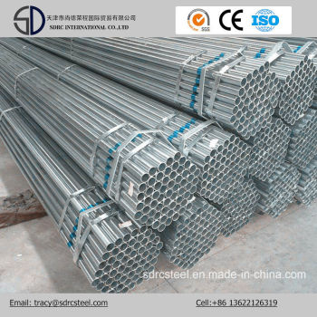 ASTM A53 ERW Hot Dipped Gi Galvanized Steel Pipe