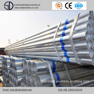 Hot Dipped Galvanized Steel Tube/Gi Pipe/Galvanized Square Steel Pipe