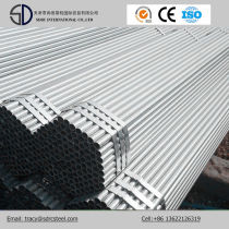 Q195 Hot DIP Galvanized Gi Steel Structure Pipes for Greenhouse