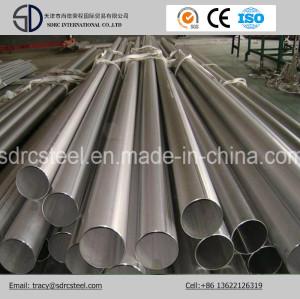 Round Pre-Galvanized Pipe for Low Pressure Fluid