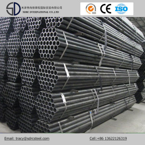 Q195 Round Black Annealed Steel Pipes for Bicycle Material