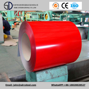 Roofing Sheet SGCC PPGI in Coils Prepainted Galvanized Steel in Coils