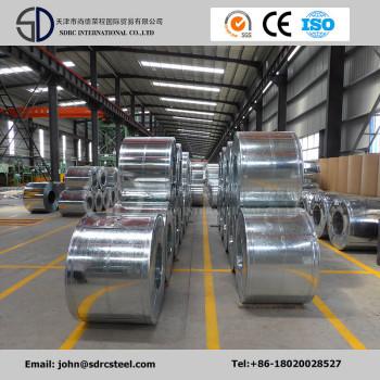 Gi ASTM JIS SGCC Dx51d Galvanized Steel Coils for Building