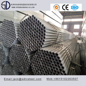 Welded S235JR Pregalvanized Round Steel Pipe/Steel Tube