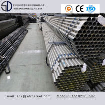 S235jo ERW Round Pre-Galvanized Steel Pipe for Steel Structure