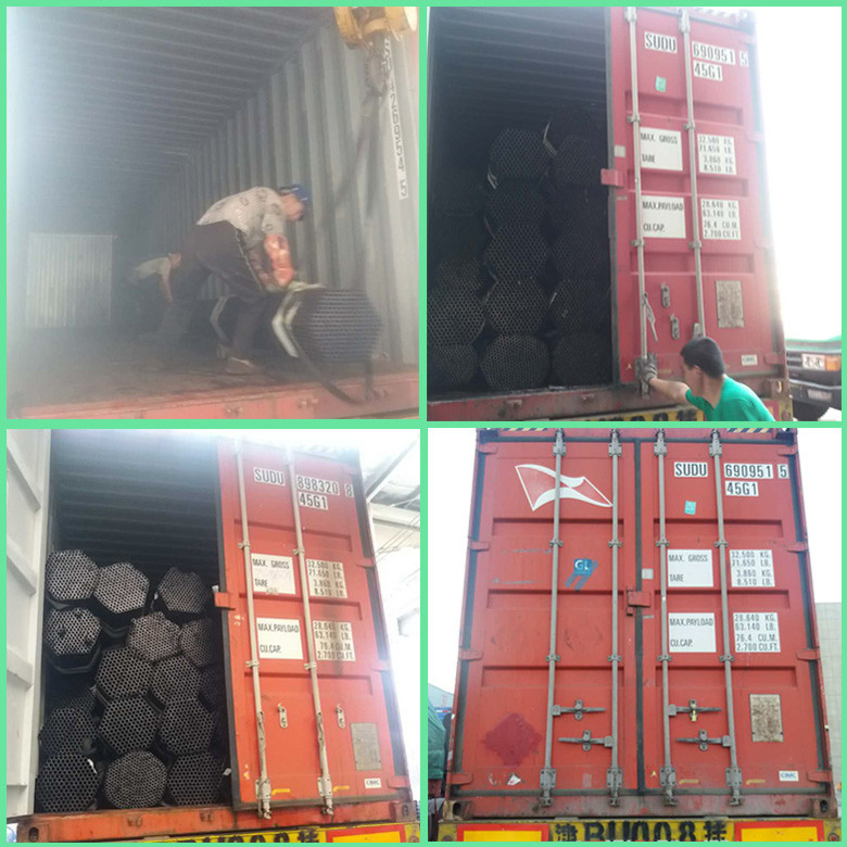 Electrical Resistance Welded Pregalvanized S235jo Round Steel Pipe