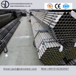 SS400 Round Pre-Galvanized Steel Pipe