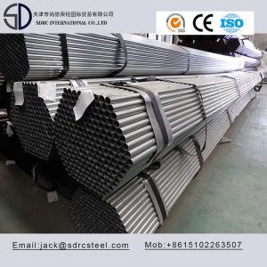 Carbon Q345D Pregalvanized Round Steel Pipe