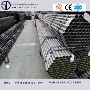 Round Pre-Galvanized Q195 Steel Pipe