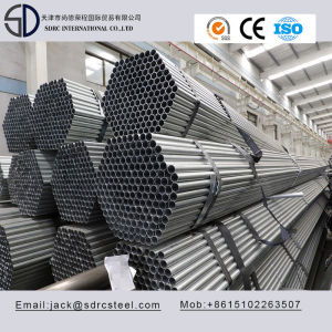 Carbon Q235 S235jo Pre-Galvanized Round Steel Pipe for Steel Building