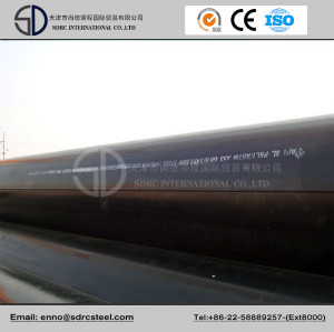 X52 LSAW Jcoe Pipeline Steel Pipe