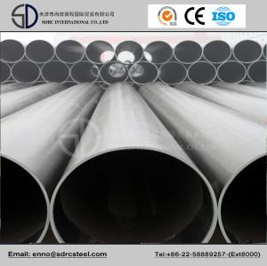 API 5L Psl1 X42-X70 LSAW Jcoe Project Using Pipeline
