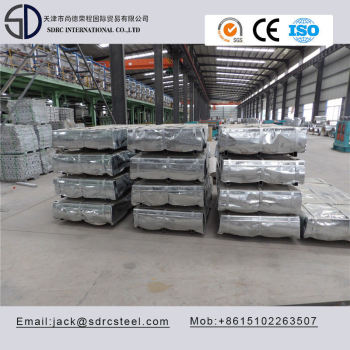 Zinc Annealed SGCC A653 Hot Dipped Galvanized Steel Sheet
