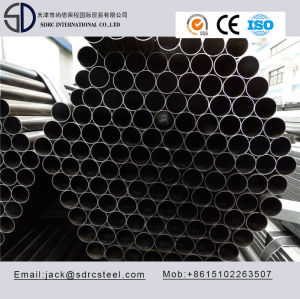 Small Diameter Thin Wall Thickness Round Black Annealed Steel Pipe
