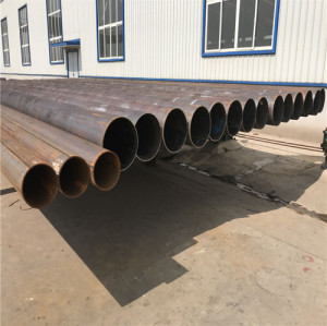 ASTM A53 ERW/LSAW Welded Steel Round Pipe for High Mast