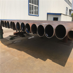 ERW/LSAW Round Carbon Steel Pipes for GSM Telecommunication Poles