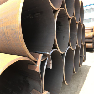 ERW Welded Mild Steel Round Pipe for Construction
