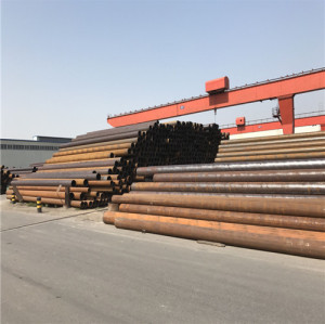 Carbon Q345B Round Steel Pipe for Stadium Lighting Poles