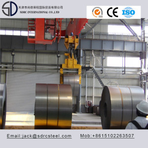 SPCD DC02 Cold Rolled Steel Coil for fire proofing door