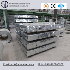 A653 CS Type B Hot Dipped Galvanized Steel Sheet