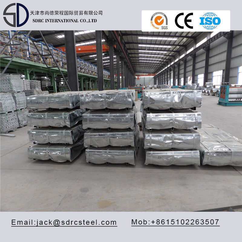 SGHC340/400/440/490 Hot Dipped Galvanized Steel Sheet from factory
