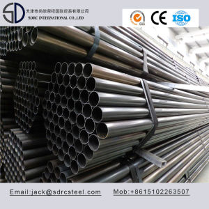 Ss330 Carbon Round Black Annealed Steel Pipe/Tube for desk/fence/chair