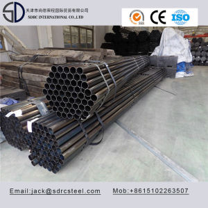 Q195 Carbon Round Black Annealed Steel Pipe for Steel Furniture