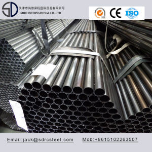 Ss330 Q195 Carbon Round Black Annealed Furniture Steel Pipe for Chairs