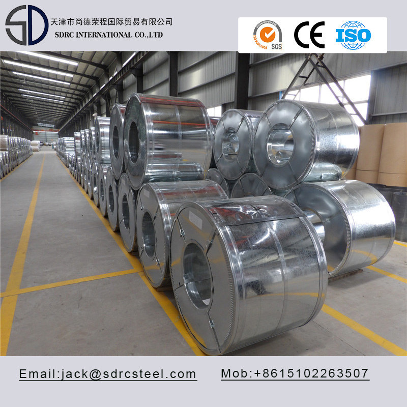 SGCE DX53D Continuous Hot Dipped Galvanized Steel Coil