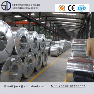 DX51D+ZF Continuous Hot Dipped Galvanized Steel Coil