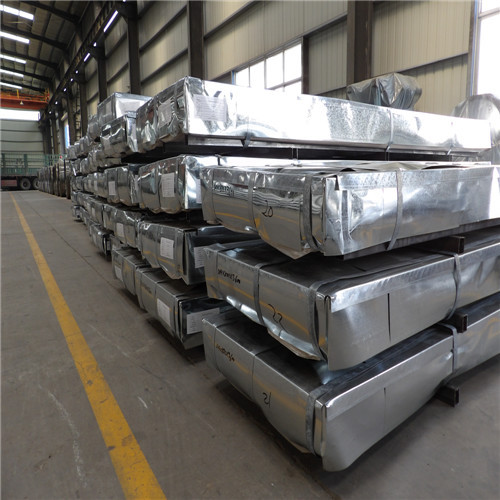 Galvanized Steel Sheet with steel pallet